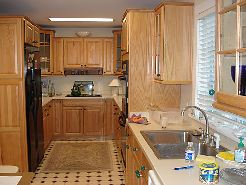 Kitchen 2 Before and After